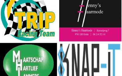 Nieuwe sponsoren van dit seizoen
