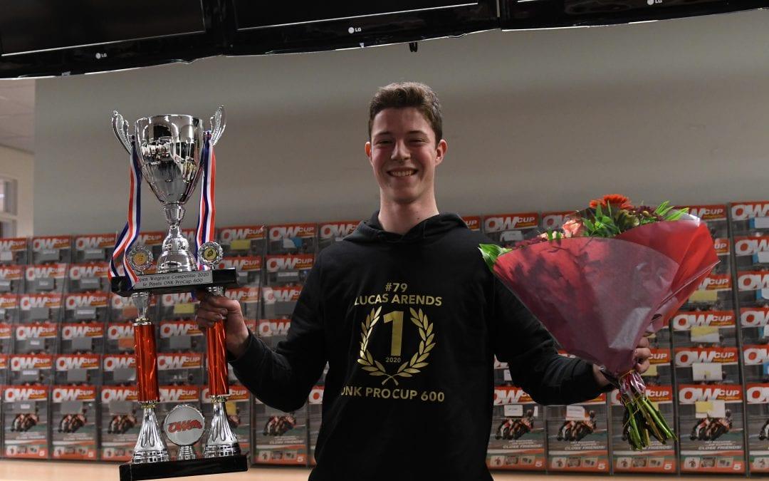 Lucas is kampioen!